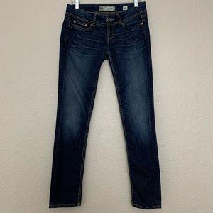 BKE Denim Flap Pocket Stella Skinny Jeans 28